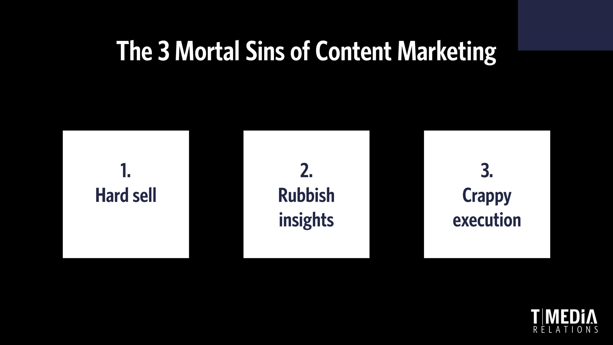 3 mortal sins